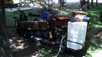 Pressure Sewer Line & Pump Station Installation-Massachusetts